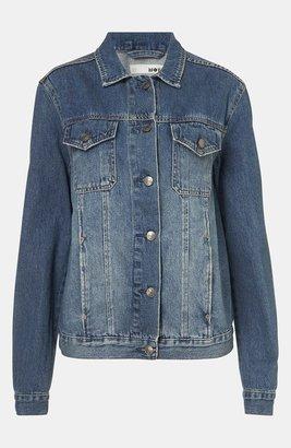 Topshop 'Sylvie' Oversized Denim Jacket