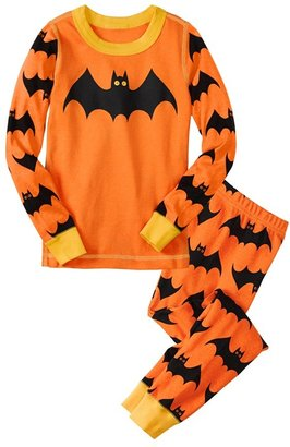 Hanna Andersson 'Halloween' Fitted Two Piece Fitted Pajamas (Toddler)