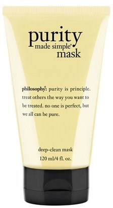 Philosophy 'Purity Made Simple' Deep-Clean Mask $25 thestylecure.com