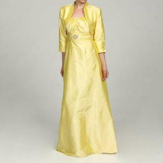 Eliza J Women's 2-piece Yellow Dress $74.99 thestylecure.com