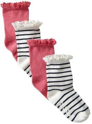 Gap Lace trim pastel socks (2-pack)