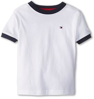 Tommy Hilfiger Ken Tee (Toddler/Little Kids) (Classic White) Boy's T Shirt