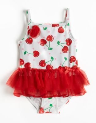 Flapdoodles Baby Girls 12-24 Months Tutu Swimsuit