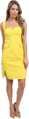 Trina Turk Crew Jumper Dress in Yellow