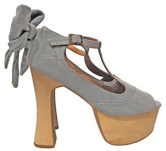 Wildfox Couture x Jeffrey Campbell Dallas Denim Shoes