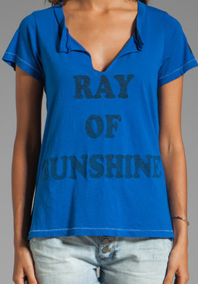 Rebel Yell Sunshine Slit Neck Crew
