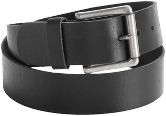 Leather Island Leather Belt - Single Prong Square Buckle (For Men)