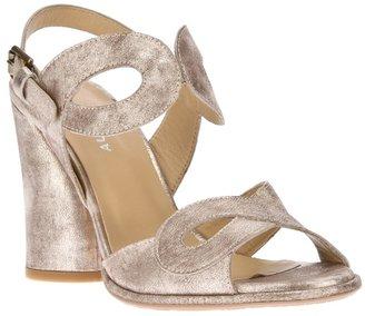 Audley chunky-heeled sandal