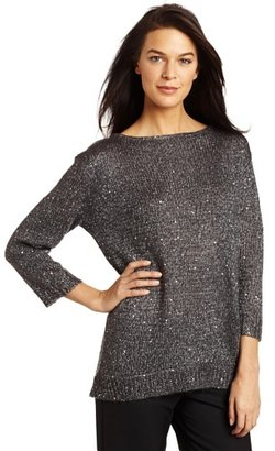 Kenneth Cole Women's Sequin Sweater
