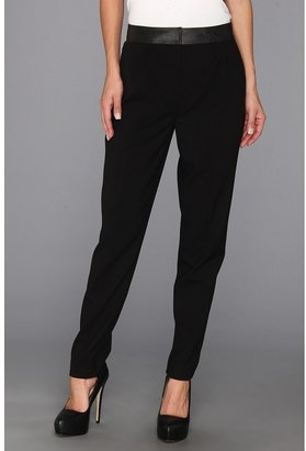 Calvin Klein Pleated Pant (Black) - Apparel