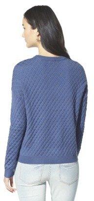 Junior's Textured Sweater
