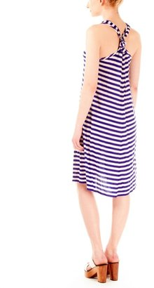 Sonia Rykiel Sonia by Heart Stripe Tank Dress