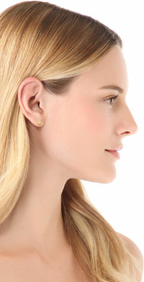 Jennifer Meyer Jewelry Mini Star Stud Earrings
