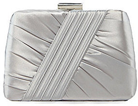 Kate Landry Social Front Pleated Box Clutch