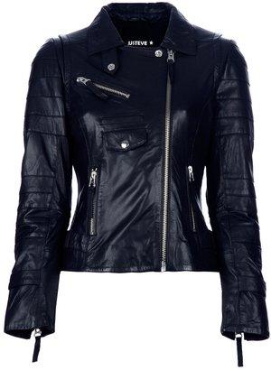 Just'eve 'Carmin' Biker Jacket