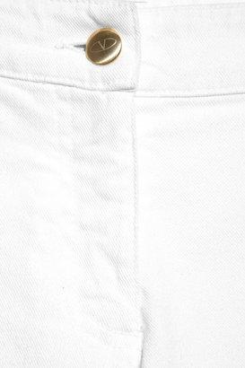 Valentino Roma Mid-rise straight-leg jeans