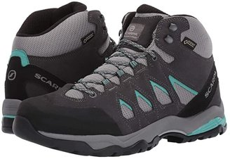 Scarpa Moraine Mid GTX (Grey/Lagoon) Women's Shoes