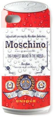 Moschino 'Drink Moschino' iPhone 5 case