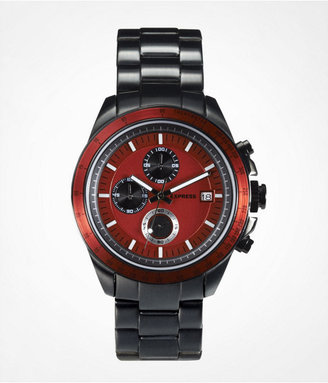 Express Chronograph Stainless Steel Bracelet Watch