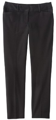 Mossimo Petite Ankle Pants - Black