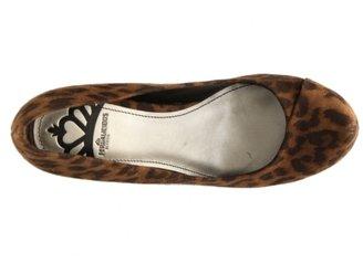 Fergalicious Dreamy Leopard Wedge Pump