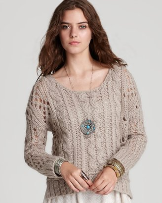 Free People Sweater - Fluff Long Sleeves