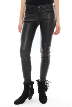 Current/Elliott The Leather Ankle Skinny -