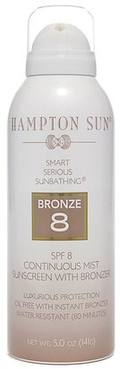 Hampton Sun SPF 8 Continuous Mist Sunscreen with Bronzer