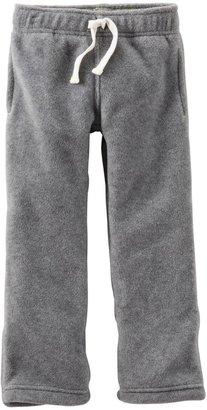Carter's Microfleece Pants (Baby) - Heather-3 Months