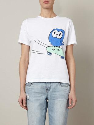 Lulu & Co Owl-print T-shirt