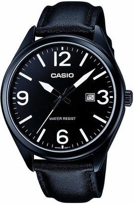 Casio Mens Black Strap Watch-Mtp1342l-1b1