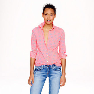 J.Crew Perfect shirt in floral foulard