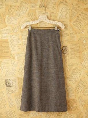 Free People Vintage Checkered Skirt