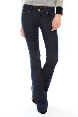 J Brand Lovestory Flare Jean in Pure