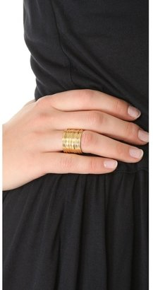 Wouters & Hendrix Gold Tiered Ring