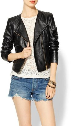 ALICE by Temperley Tatami Leather Jacket