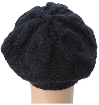 San Diego Hat Company KNH3228 Cable Knit Beret Berets