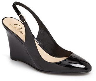 Delman Rosa Slingback Almond Toe Pump $378 thestylecure.com