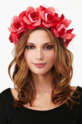 Nasty Gal Daza Rose Crown