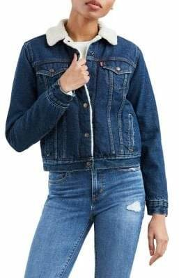 Levi's Original Sherpa Denim Trucker Jacket