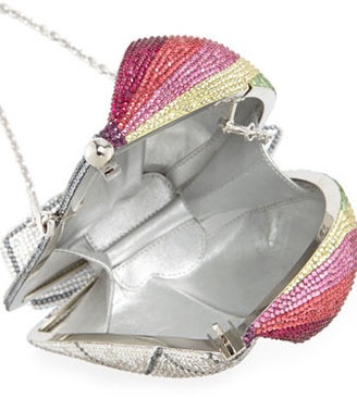 Judith Leiber Couture The James Crystal Sailboat Minaudiere