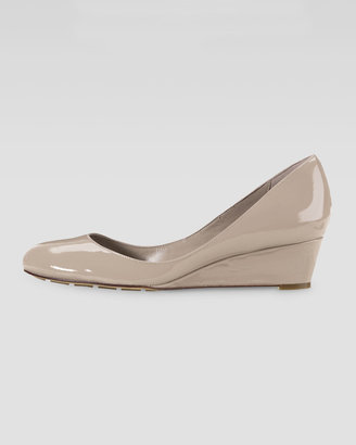 Cole Haan Air Talia Mid-Wedge Patent Pump, Maple