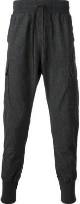 Dolce & Gabbana tapered track trouser