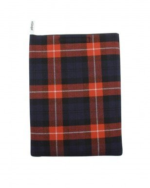 Pijama Blue and Red Tartan 15 Laptop Sleeve