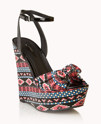 Forever 21 Out West Wedge Sandals
