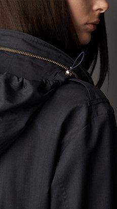 Burberry Lightweight Wool Silk Field Jacket