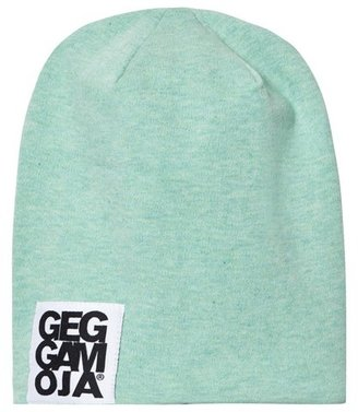 Geggamoja Reversible Green and Striped Hat