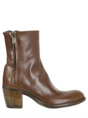 Rocco P. 70mm Vintaged Kangaroo Leather Boots