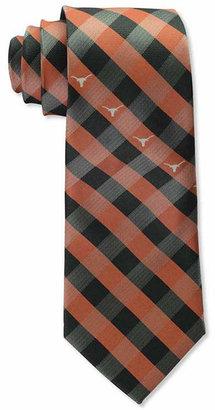 Eagles Wings Texas Longhorns Checked Tie