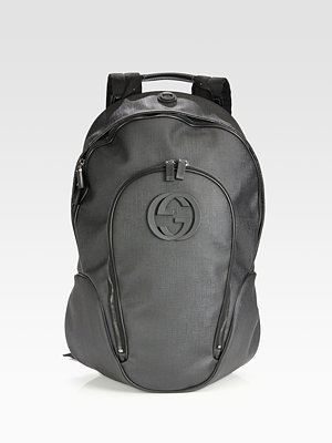 Gucci Black Plus Backpack